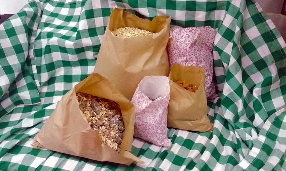 Paper bags packaging