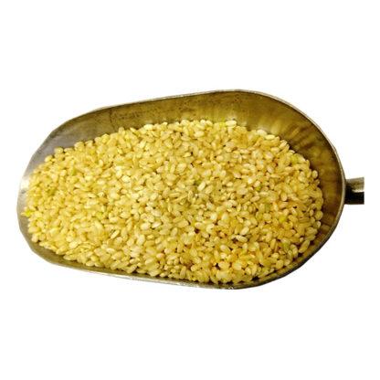 brown shortgrain rice