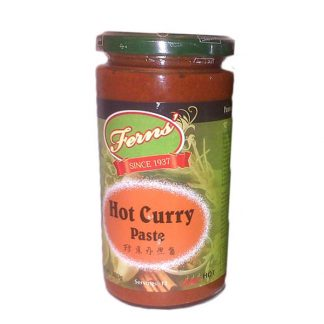 Ferns Hot Curry Paste