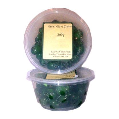 Green Glace Cherries
