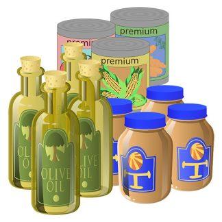 Jars/Bottles and Tins
