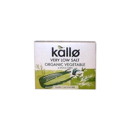 Kallo Low Salt Organic Vegetable Stock Cubes
