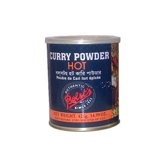 Hot Curry Powder Bolst