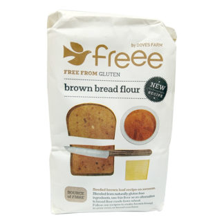 gluten free brown bread flour