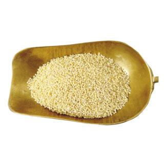 hulled millet grain