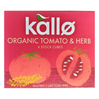 kallo organic tomato and herb stock cubes